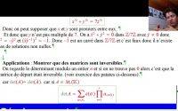 Agrégation interne maths : Leçon 103 Anneau Z/nZ. Applications.