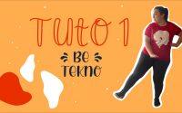 Be - Tekno TUTORIEL 1 / Karine Vivredanse