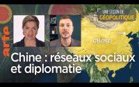 Chine : réseaux sociaux et diplomatie – Une Leçon de géopolitique #30 – Le Dessous des cartes | ARTE