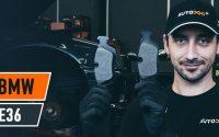 Comment remplacer des plaquettes de frein arrière sur BMW E36 [TUTORIEL AUTODOC]