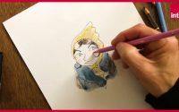 """Fred Bernard : Comment dessiner """"Idiss"""" ? La leçon de dessin confinée"""