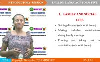 IP-LAL Introductory Leçon 1 English Form 5 Listening comprehension