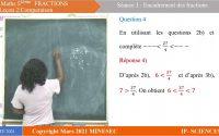 IP-SC Mathématiques 5ème Leçon 13 Encadrement  de fractions