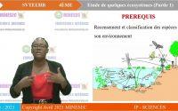 IP-SC SVT 4ème Leçon 8 ETUDE DE QUELQUES ECOSYSTEMES PARTIE 1