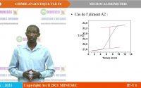 IP-TI Chimie Analytique Tle F6 Leçon 3 Microcalorimétrie Partie 1