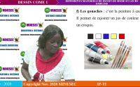 IP-TI DESSIN DE MODE A1 Leçon 1  DIFFERENTS MATERIELS DE DESSIN DE MODE ET LEURS EMPLOIS