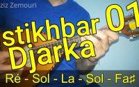 ISTIKHBAR Djarka partie 01 Tutoriel avec notes de musique إستخبار الجاركة الغصن الأول