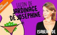Isabeau de R. - La leçon de jardinage de Joséphine