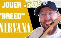 Jouer BREED de NIRVANA à la guitare (leçon + tablatures + backing track)