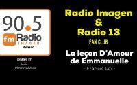 La Leçon D'Amour D'Emmanuelle - Francis Lai * Radio Imagen & Radio 13 Music Fan Club