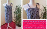 Le tutoriel de la petite robe facile à faire taille 40