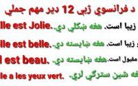 Leçon 99 : Les 12 Phrases Les Plus Utilisées en Français - فرانسوي زده کړه په پښتو ژبه