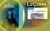 """Leçon de l'école du sabbat 2021""""Les obligations de l'alliance"""""""