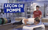 Leçon de pompe avec Nicolas Mariettan