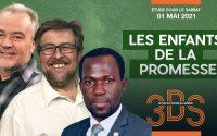 Les enfants de la promesse - Leçon d'école du sabbat pour le sabbat 1er mai 2021 - Le trio 3DS