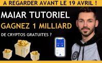 Maiar tutoriel : Cryptos gratuites : Tutoriel application en français - Maiar exchange, Maiar tuto