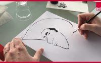 """Matthieu Bonhomme : """"Comment dessiner Lucky Luke ?"""", la leçon de dessin confinée"""