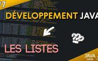 TUTORIEL JAVA 7# - Les bases des listes !