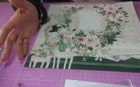 #Tutoriel #Album photos #Kit femina de chez #Scrapcolors collection # Lady de #Mintay by Karola 1/4😉