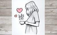 Tutoriel de dessin : comment dessiner une fille étape par étape #tutodessin