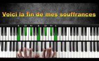 Voici la fin de mes souffrances (cantique #5) : Tutoriel Débutant PIANO QUICK