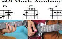 leçon de rumba à la guitare
