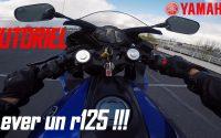 #tutoriel en r125 #1 COMMENT LEVER UN R125 !!! 🧐
