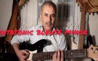 تعليم جيتار الدرس 20 leçon guitare pentatonic bleues minor