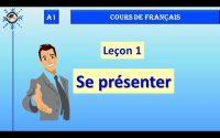 A1 🌹 Leçon #1 : Se présenter ★ COURS DE FRANÇAIS ★ Academie Cô Ba