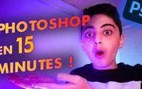 APPRENDRE PHOTOSHOP EN 15 MINUTES ! | Tutoriel Youtube #6