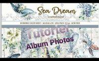 Album photos Collection #Sea Dream #Stamperia #Tutoriel #Scrapbooking partie 2(Facile)