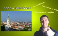 """Apprendre l'italien - Leçon 48 /// Vlog à Bratislava + """"être en train de"""""""