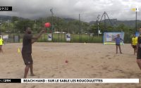 Beach Handball : la leçon de Boisedu