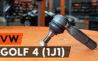 Comment remplacer des rotule de direction sur VW GOLF 4 (1J1) [TUTORIEL AUTODOC]