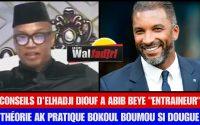 """Elhadji Diouf Donne une Leçon à Abib Beye Entraîneur """" Wakh ak Entraîneur bokoul, Boudone May Mom"""""""