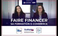 Faire financer sa formation E-Commerce - Tutoriel