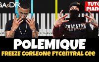 Freeze Corleone ft Central Cee - Polémique (PIANO TUTORIEL KARAOKE instru) [ Ga&Dr Piano Tuto ]