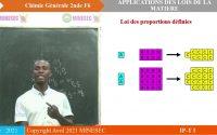 IP-TI CHIMIE GENERALE 2nde F6 Leçon 4 Loi de la conservation de la matière.