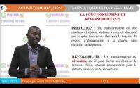 IP-TI TECHNOLOGIE DES EQUIPEMENTS ELECTROMECANIQUES 4E ANNEE ELME Leçon 4 Les Transformateurs Mono