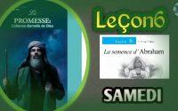 """LEÇON DE L'ÉCOLE DU SABBAT 2021 """"La semence d'Abraham"""