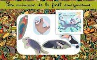 Leçon maternelle : Les animaux de la forêt amazonienne