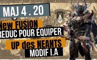 MAJ 4.20 | Nouvelle Fusion | Equilibrage | Modif IA | tutoriel raid fr | Raid Shadow Legends FR