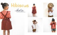 [ TUTORIEL ] Coudre un haut / une blouse pour fille - patron Hibiscus