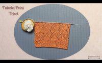 Tricot: Tutoriel Point Fantaisie ajourés. Knitting tutorial openwork stitch. Maï Crochet Tricot