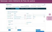 Tutoriel Chorus Pro V2 - Saisir un mémoire de frais de justice