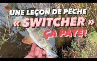 Une leçon de pêche ! Changer de leurre et d'animation