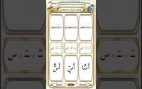 Alqaaedatou athahabia composé par Mohamed el houfi Leçon 2 Les lettres  (س) et leurs voyelles