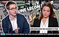 🔴➡️➡️ Antoine Léaument donne une leçon de journalisme sur le plateau de Cnews