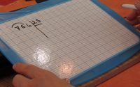 Calcul CM1 leçon diviser par un nombre à deux chiffres.