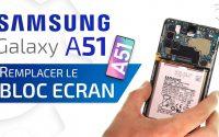 Comment changer le bloc écran du Samsung Galaxy A51 ? | Tutoriel Brico-phone